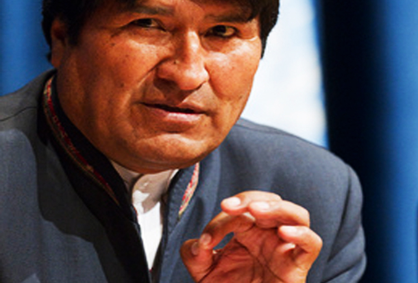 Morales: 'You can't combat terrorism with military spending or military force'