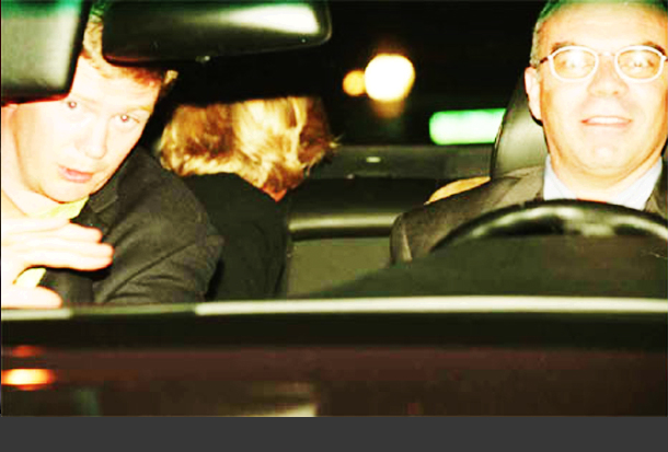 Photos Of Princess Diana In Back Seat Of Car Dying
