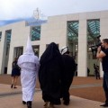 Aussies Challenge 'The Full Burqa' by Wearing KKK Outfit in Public