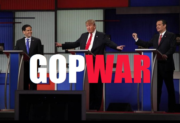 Blood Sport: GOP Presidential Race Takes Another Brutal Turn As 'Party Favorites' Tear Into Trump