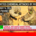 BREAKING: Syrian Government Gives Evidence of 'Rebels' Using Mustard Gas Against Civilians
