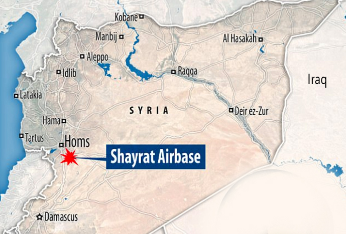1 Syria Map