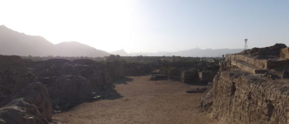 Al Ukhdood Village in the Saudi Arabian province of Najran