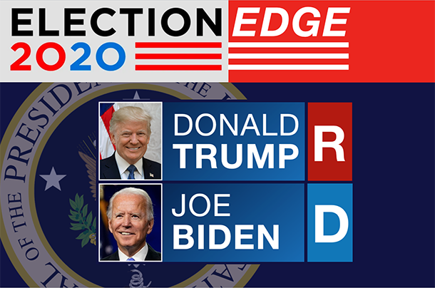 2020 Election Edge - Donald Trump (R) vs. Joe Biden (D)